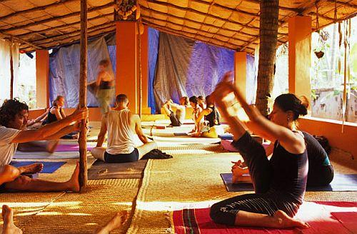 yoga class goa