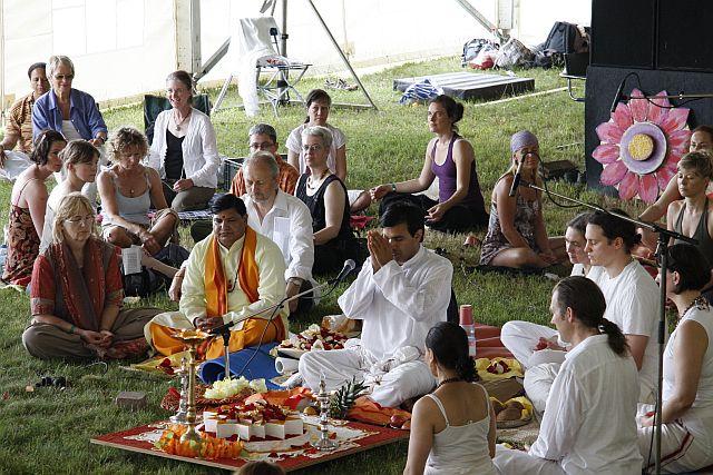 Homa mit Sri Sivan Namboothiri