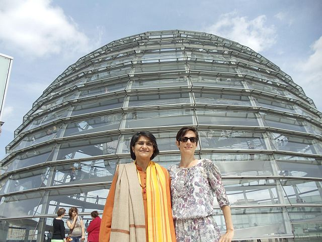 Shubraji and Isabell in Berlin