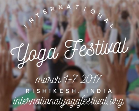 The International Yoga Festival 2017